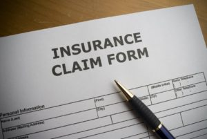 Lakewood Roofing Company insurance claim form