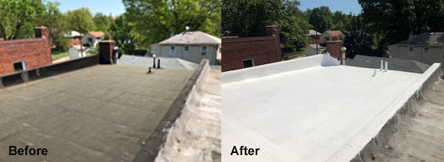 top-commercial-low slope roofing-repair-lakewood